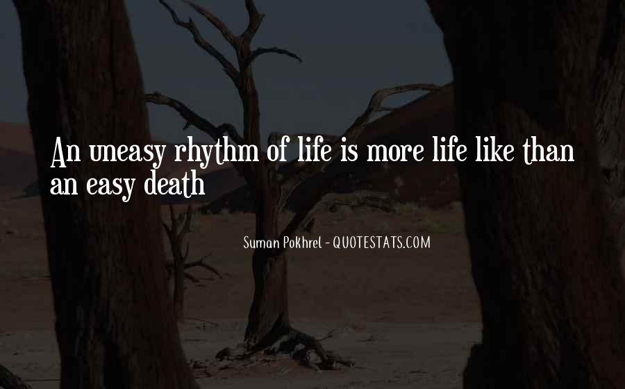 Quotes About Rhythm #46408