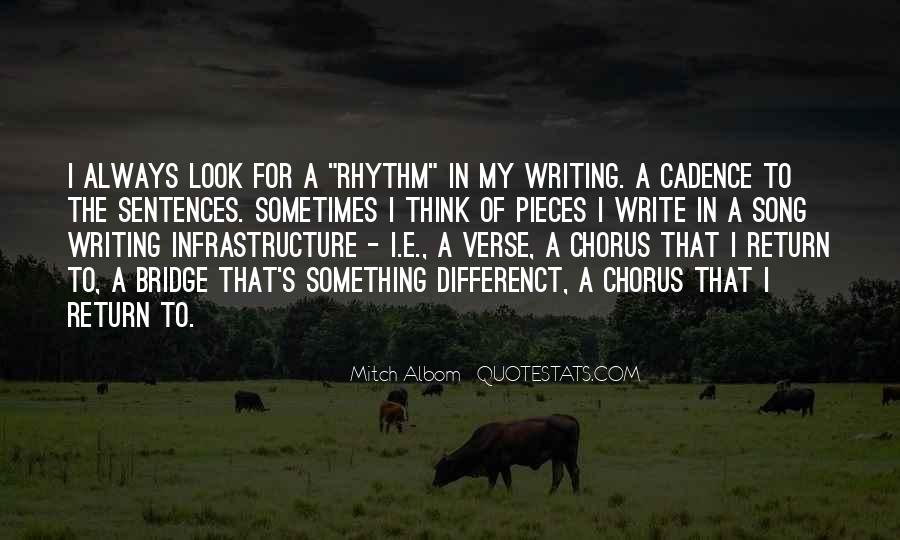 Quotes About Rhythm #70748