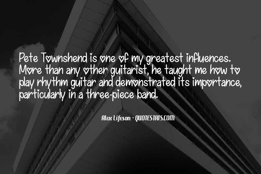 Quotes About Rhythm #86952