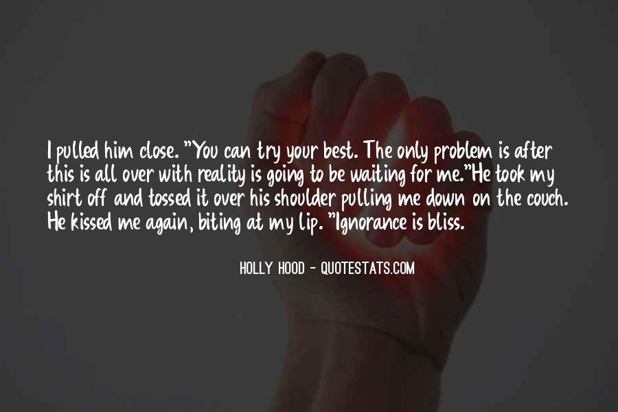 Pulling Me Down Quotes #1245792