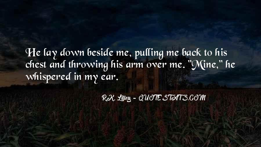 Pulling Me Down Quotes #1460890