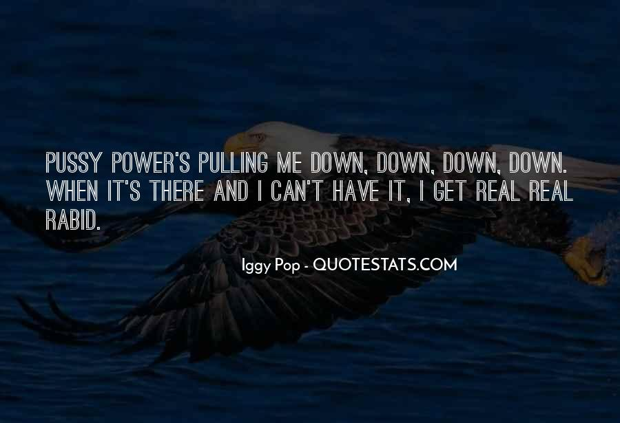 Pulling Me Down Quotes #1568700