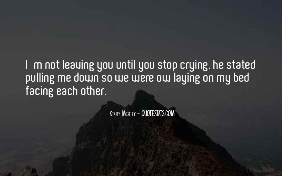 Pulling Me Down Quotes #291838
