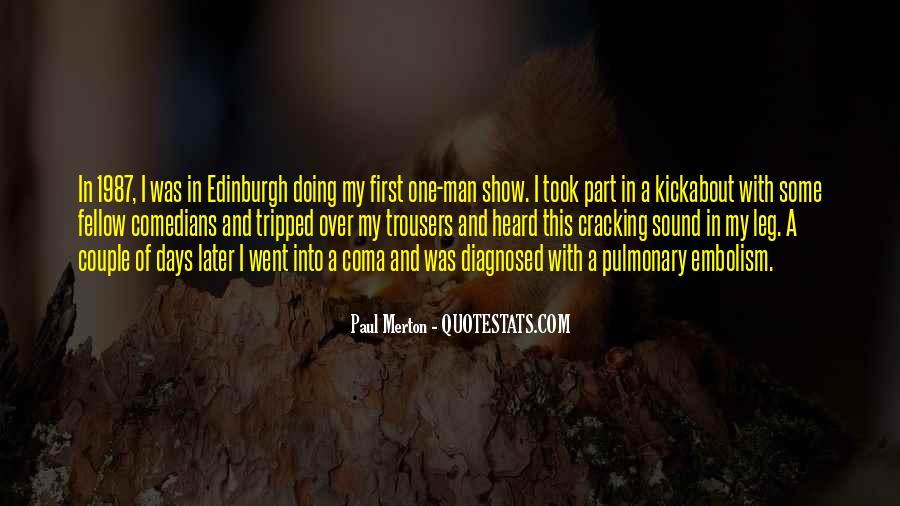 Pulmonary Quotes #223640