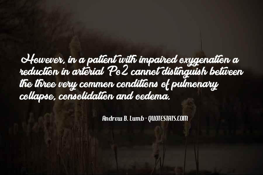 Pulmonary Quotes #648063