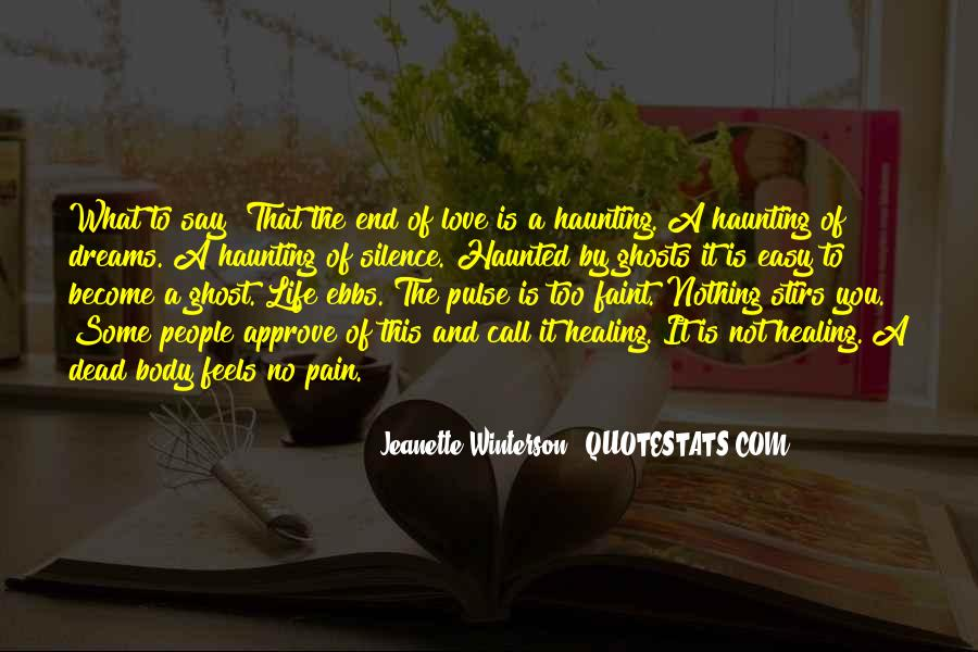Pulse Of Life Quotes #1081792