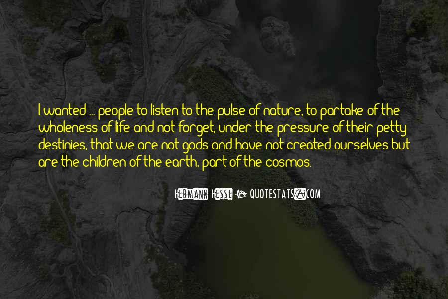 Pulse Of Life Quotes #1148992