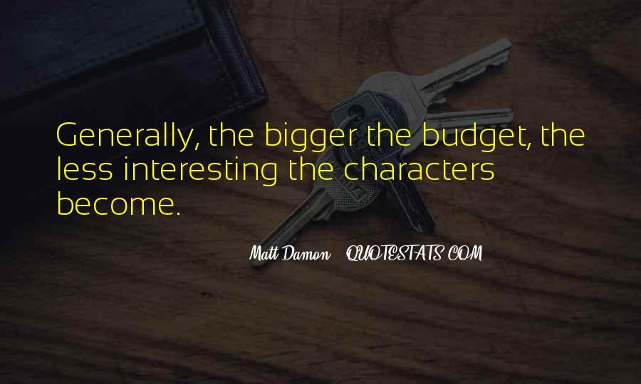 Quotes About Matt Damon #1017696