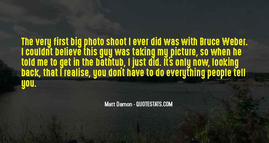 Quotes About Matt Damon #1119622