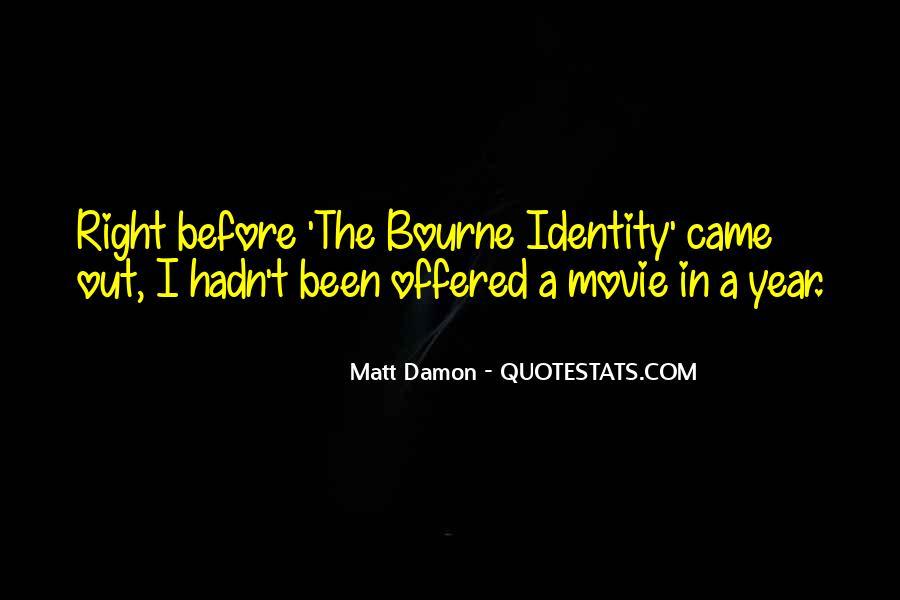 Quotes About Matt Damon #114018