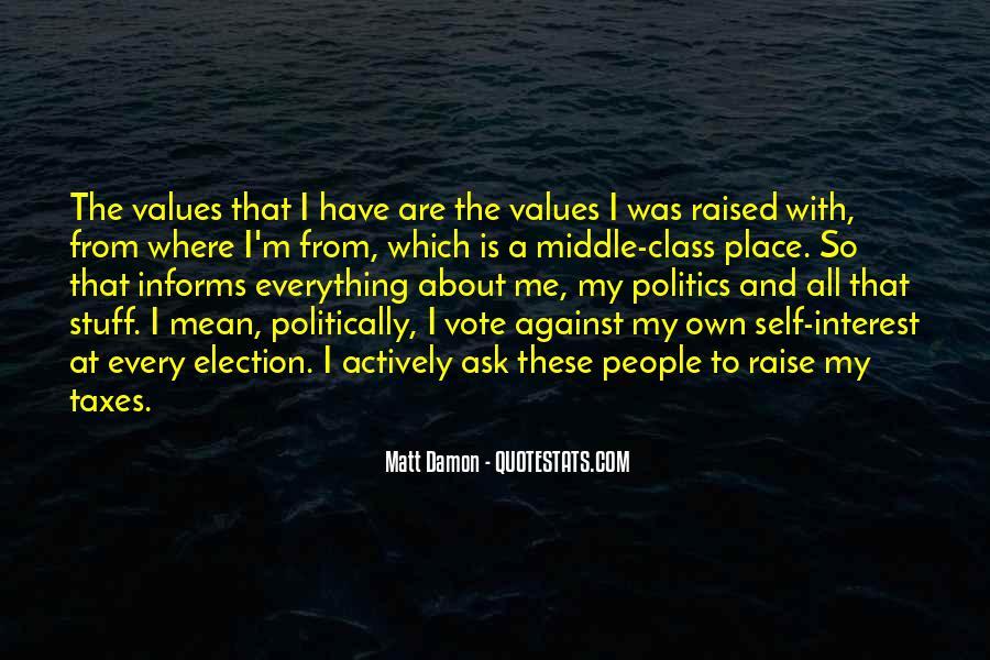 Quotes About Matt Damon #1242852