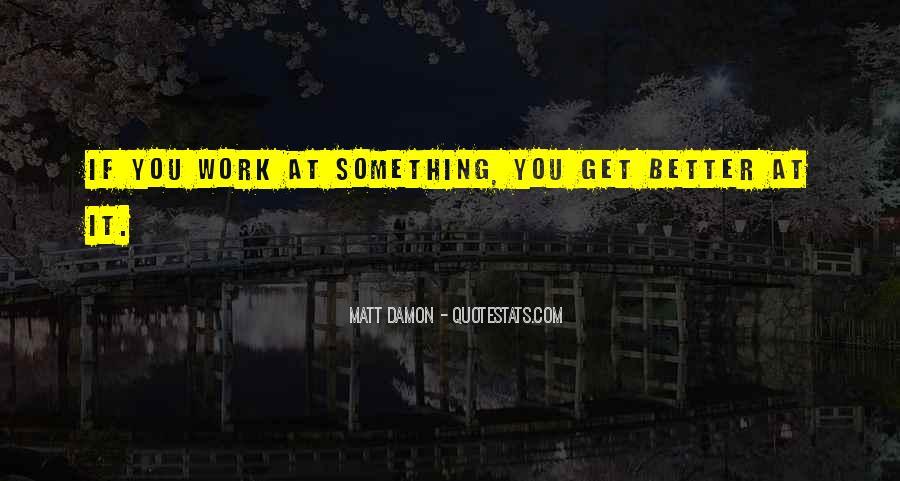 Quotes About Matt Damon #1282490