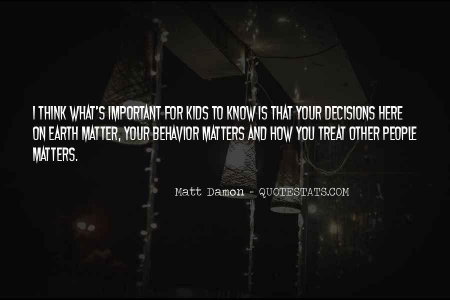 Quotes About Matt Damon #1306211