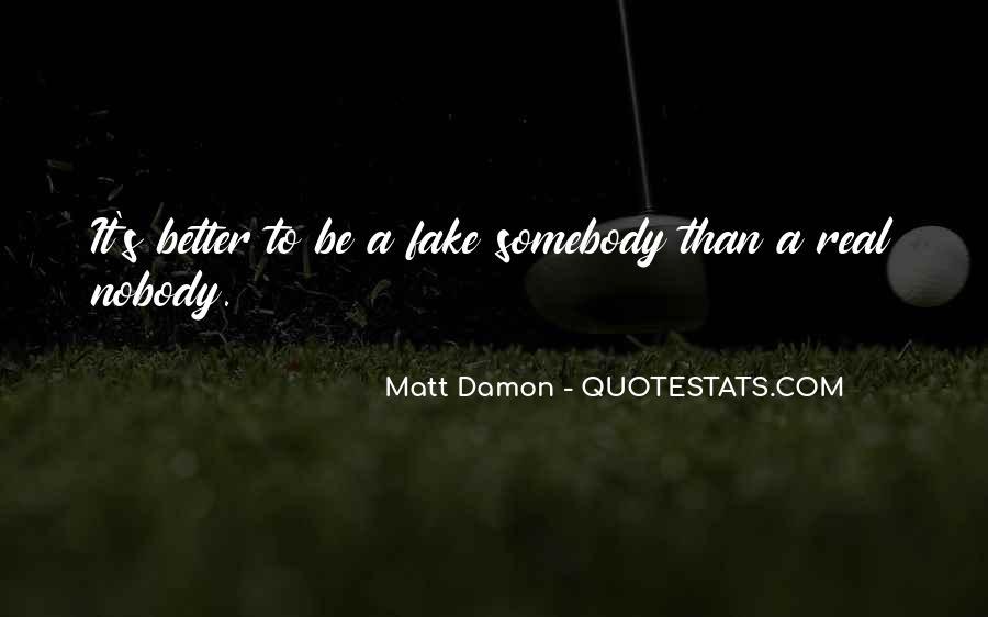 Quotes About Matt Damon #158667