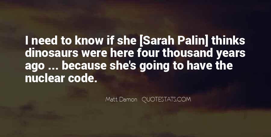 Quotes About Matt Damon #311655