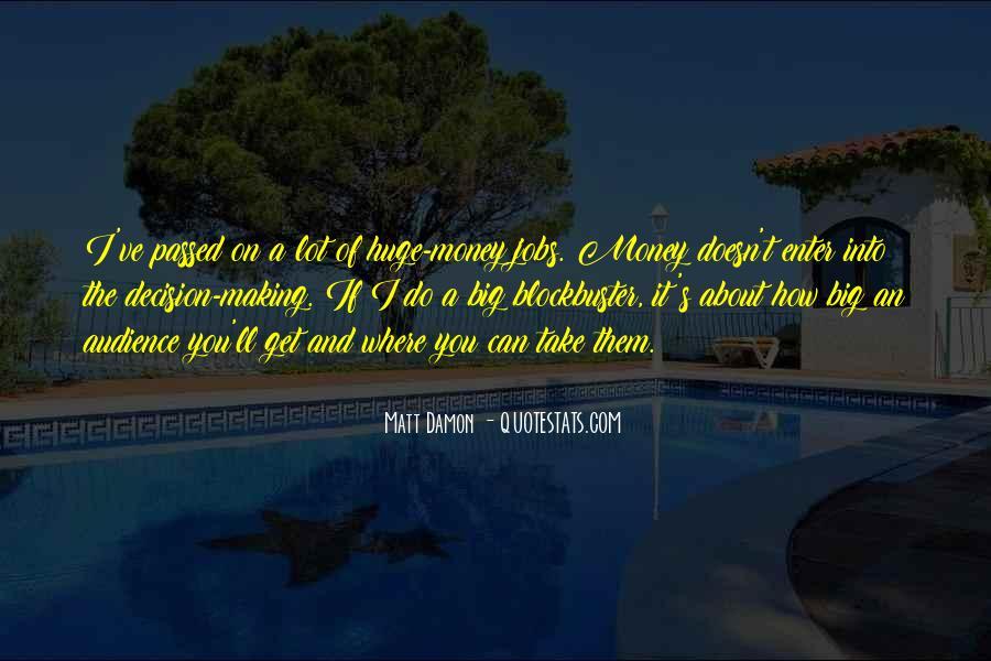 Quotes About Matt Damon #319886