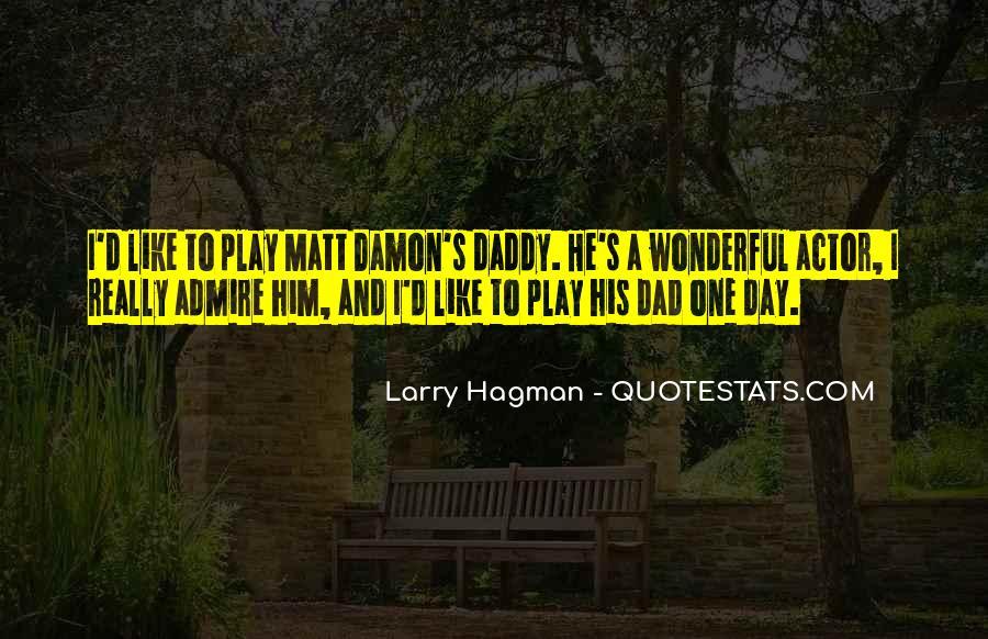 Quotes About Matt Damon #399676