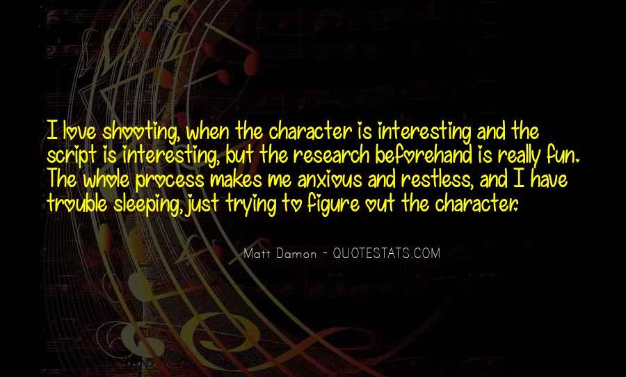 Quotes About Matt Damon #427974