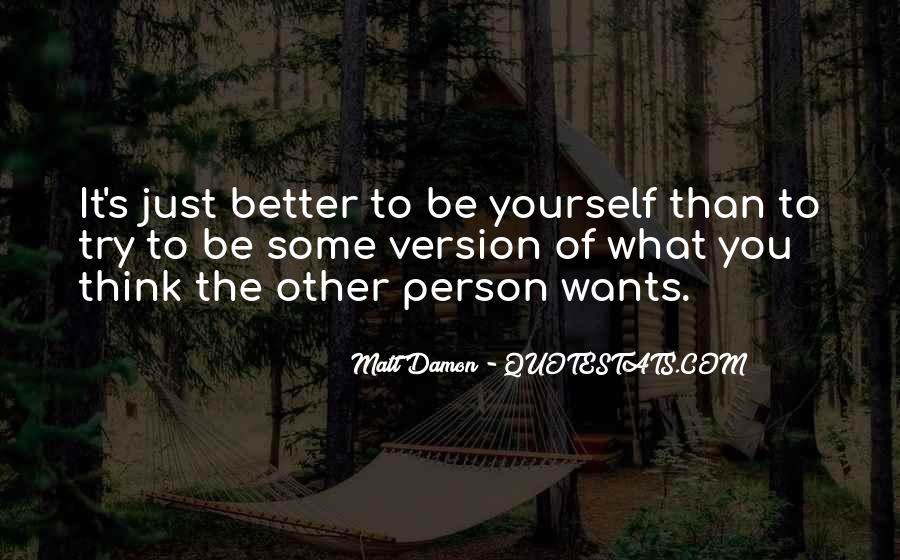 Quotes About Matt Damon #454863