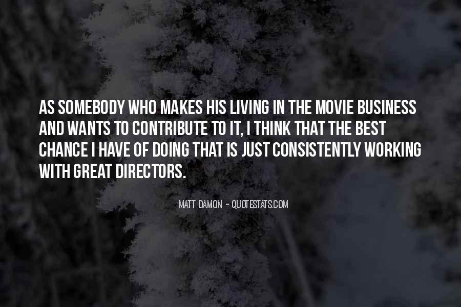 Quotes About Matt Damon #467729
