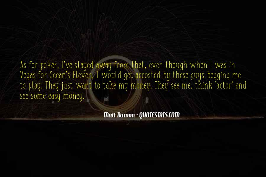 Quotes About Matt Damon #661322