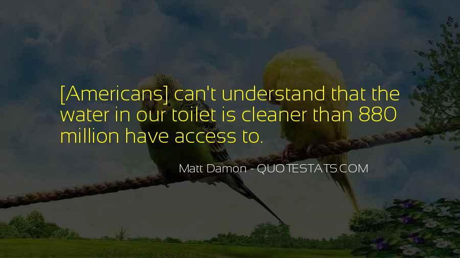 Quotes About Matt Damon #667366