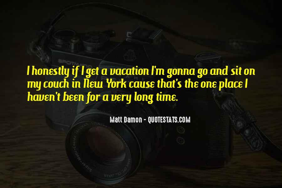 Quotes About Matt Damon #694384