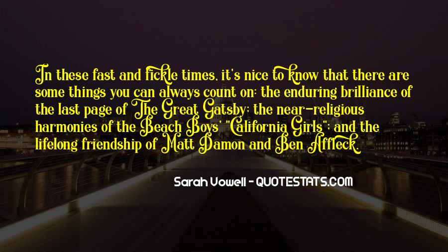 Quotes About Matt Damon #695980