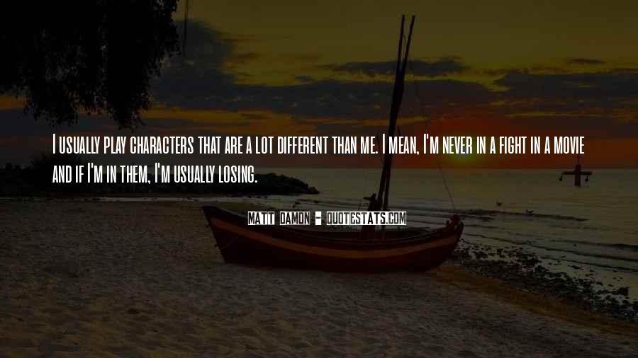Quotes About Matt Damon #722263