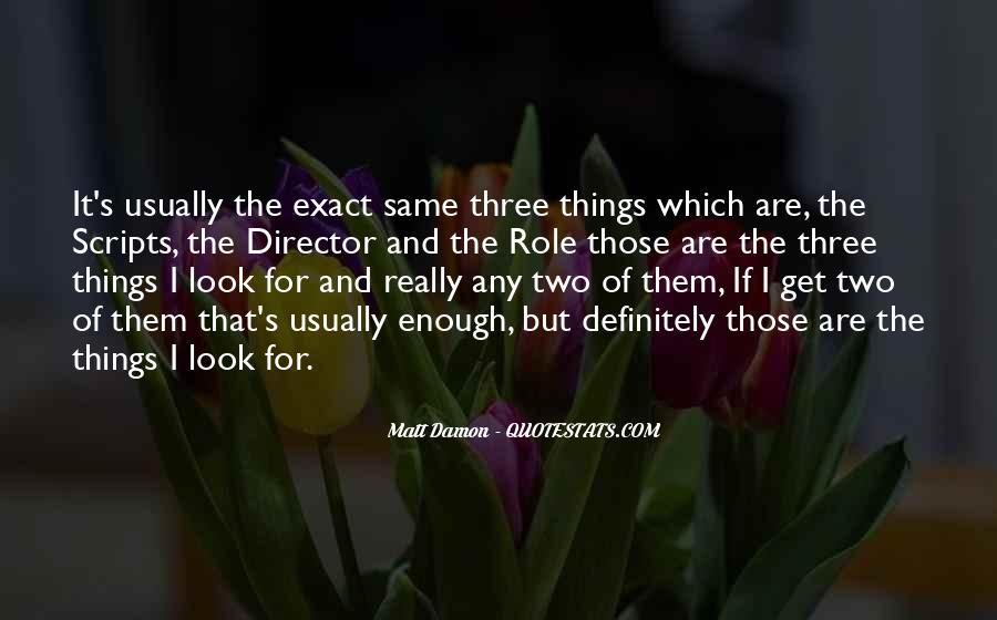 Quotes About Matt Damon #736115