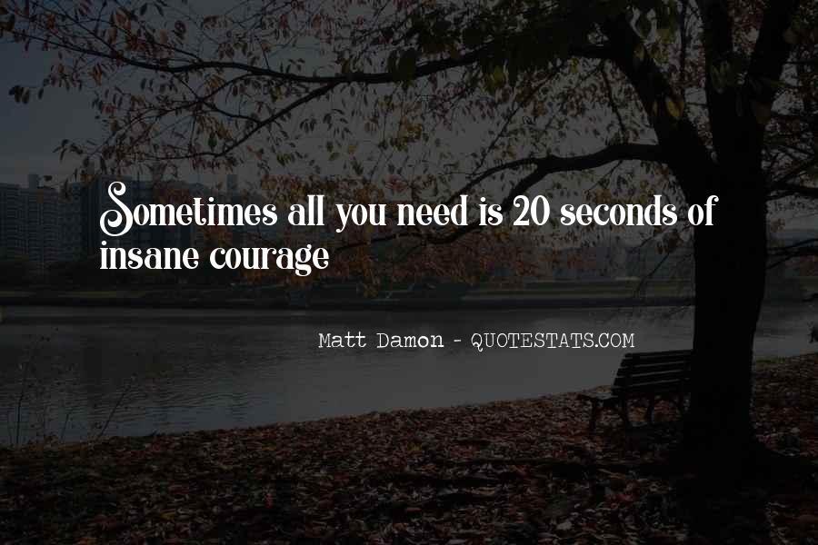Quotes About Matt Damon #763409