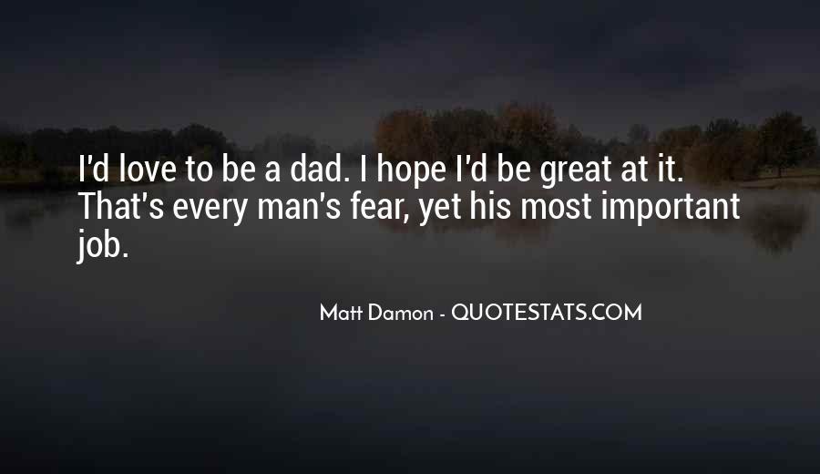 Quotes About Matt Damon #792069