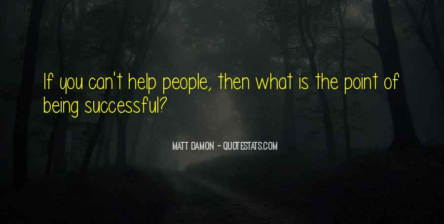 Quotes About Matt Damon #799666