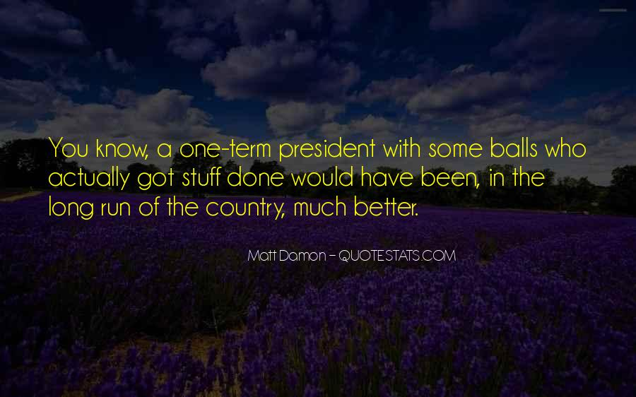 Quotes About Matt Damon #840980