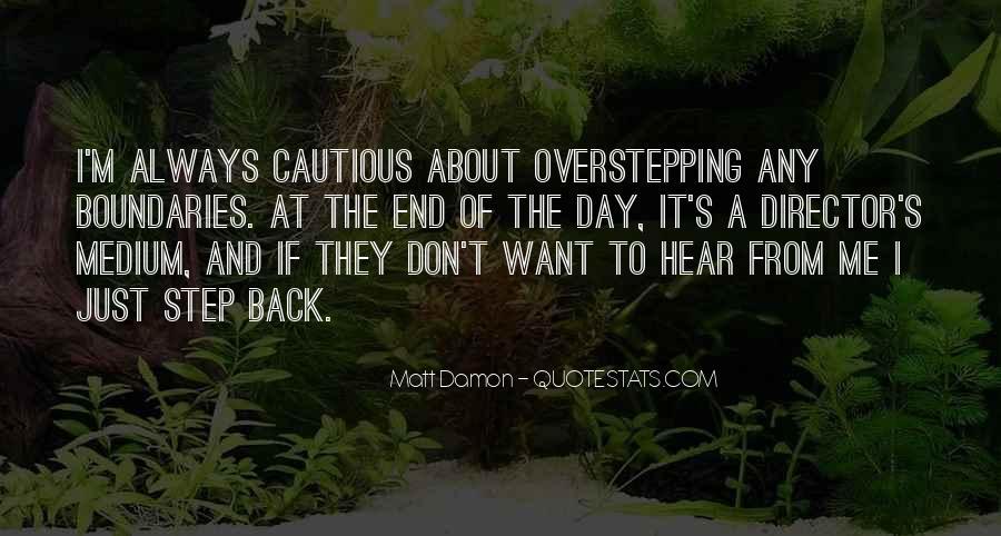 Quotes About Matt Damon #857401