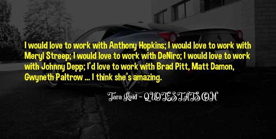 Quotes About Matt Damon #870302