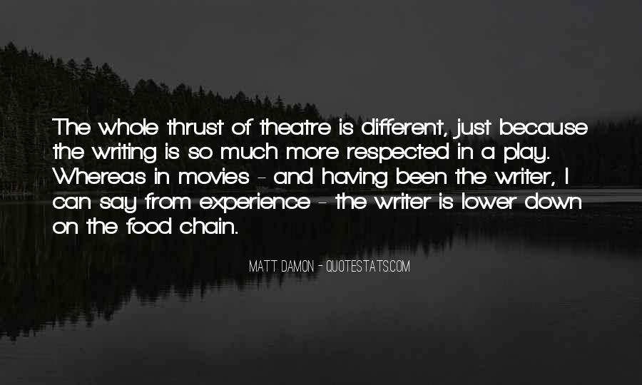 Quotes About Matt Damon #881447