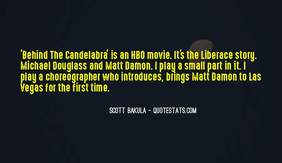Quotes About Matt Damon #921280