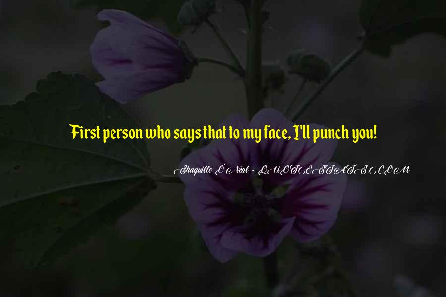 Punch You Face Quotes #806327