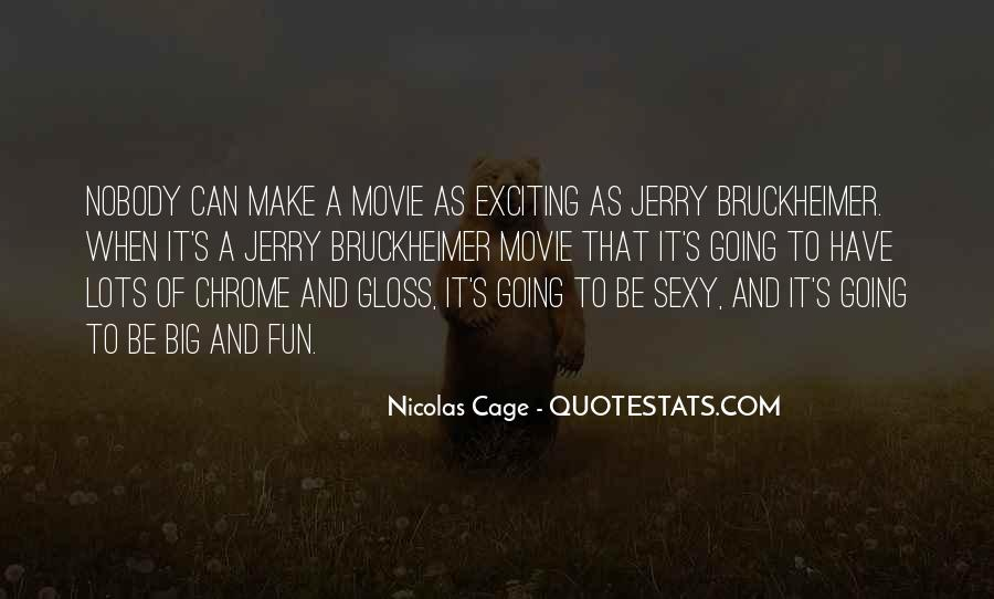 Quotes About Nicolas Cage #194214