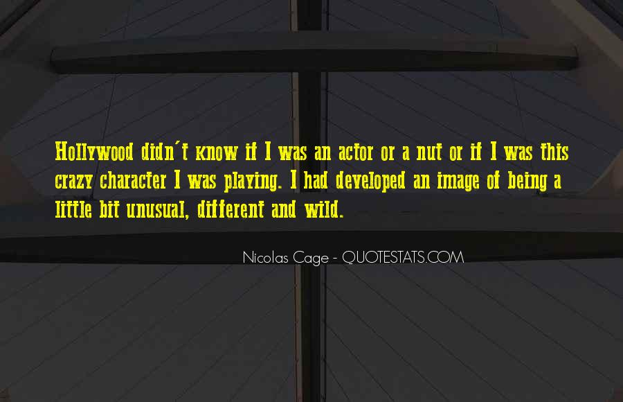 Quotes About Nicolas Cage #209849