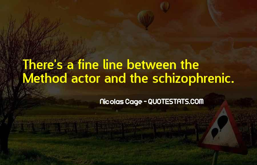 Quotes About Nicolas Cage #267875