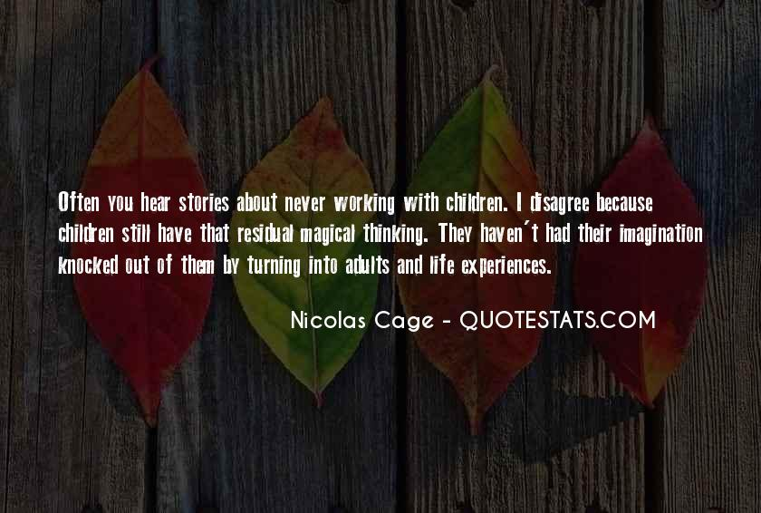 Quotes About Nicolas Cage #359802