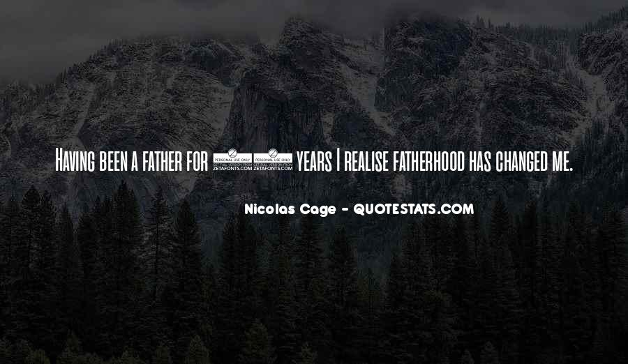 Quotes About Nicolas Cage #507866