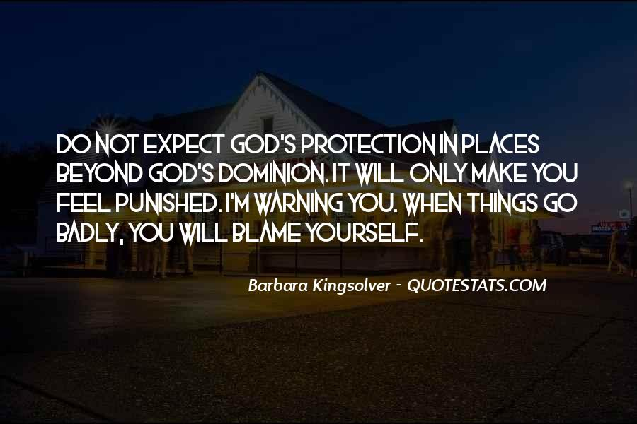Punished By God Quotes #1486878