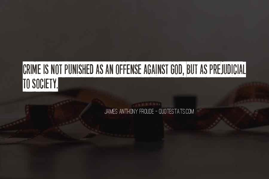 Punished By God Quotes #1854440