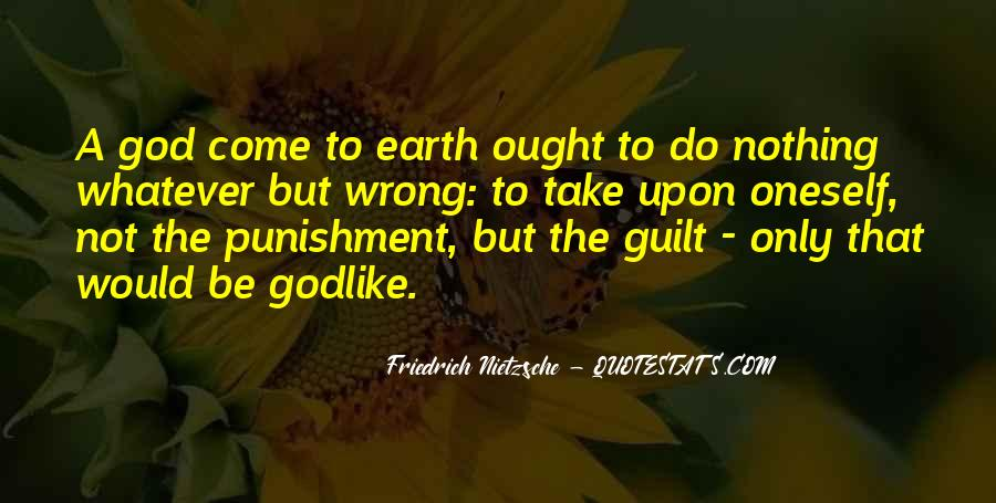 Punishment From God Quotes #154514