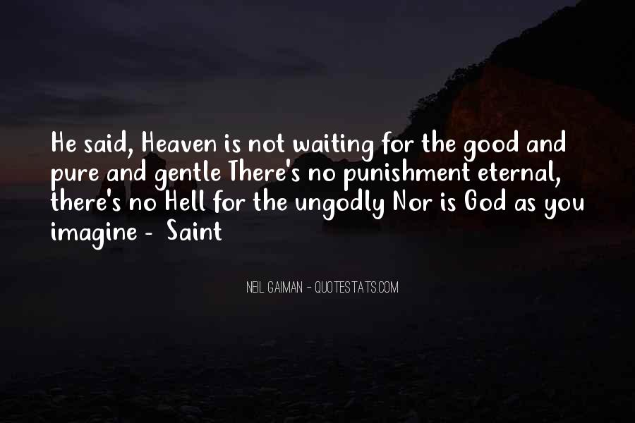 Punishment From God Quotes #204011