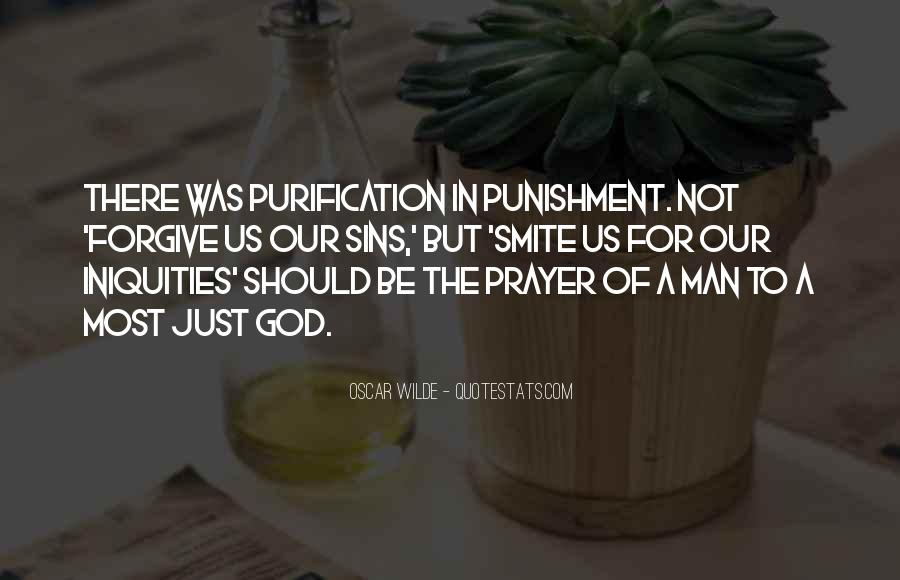 Punishment From God Quotes #215307