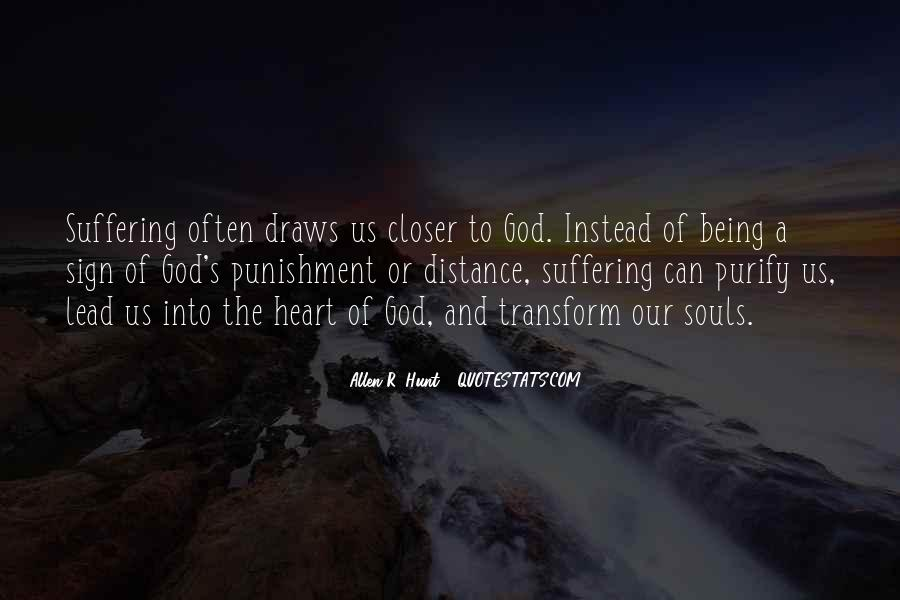 Punishment From God Quotes #370741